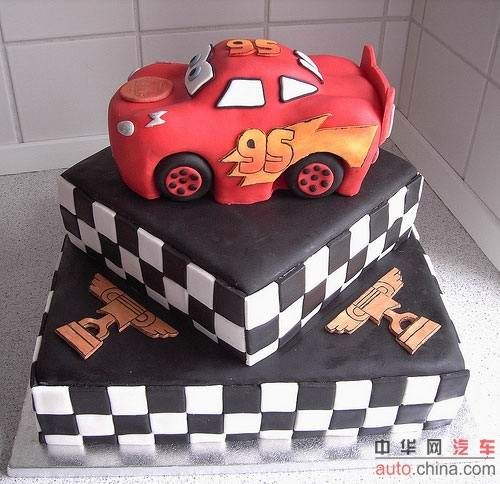 Авто-торты (26 фото)