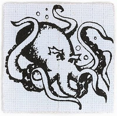 Рисунки на марках ЛСД
