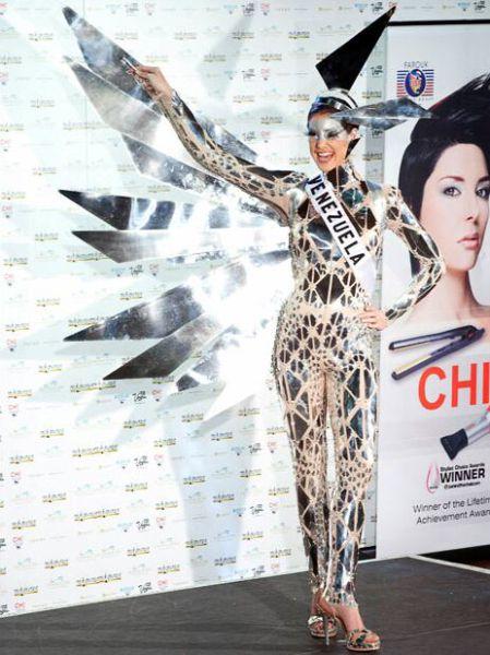 Мисс Вселенная 2010. Конкурс национальных костюмов (30 фото)