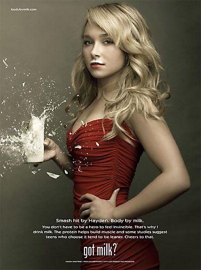 Сексуальная реклама молока по-американски (25 фото)