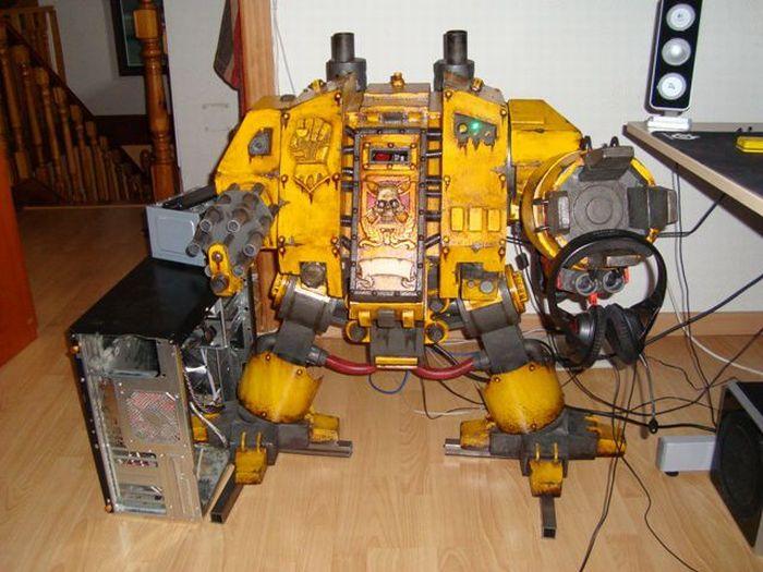 Крутой моддинг в стиле Warhammer 40K (97 фото + видео)