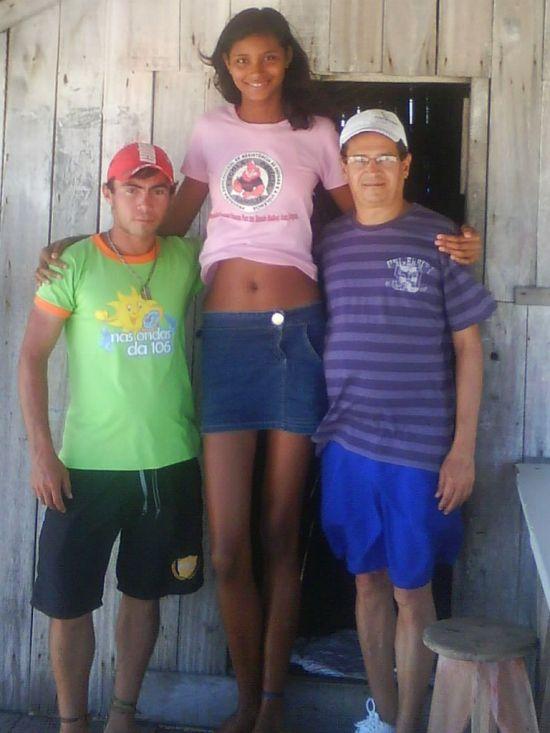 Высокая девчонка видео