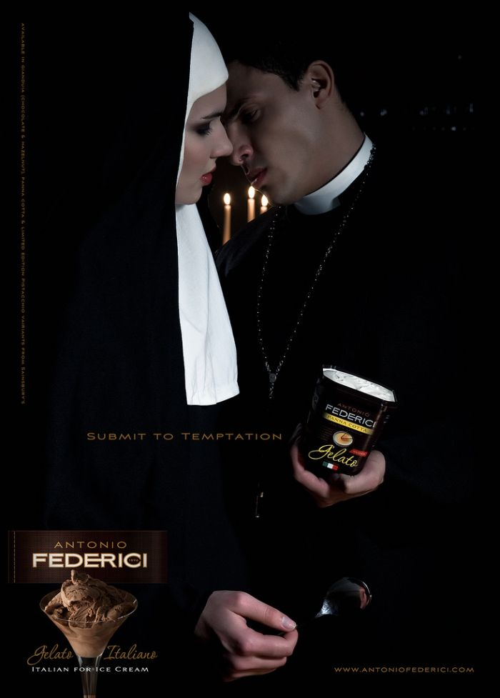 Запрещенная реклама мороженого (4 фото)