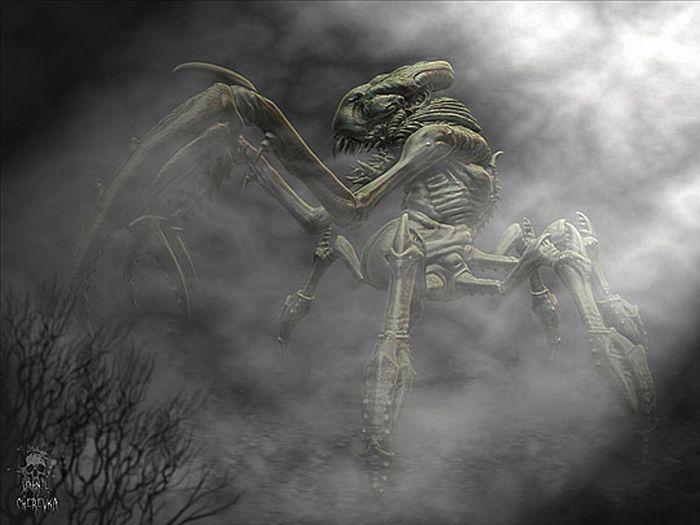 Разные виды пришельцев (33 фото)