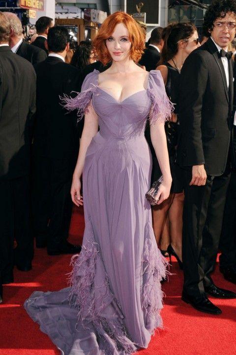 Кристина Хендрикс на вручении наград Эмми 2010 (17 фото)