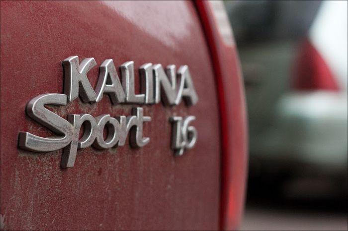 LADA Kalina Sport 1.6. Интересный обзор (16 фото + текст)
