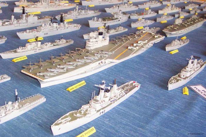 Флот из спичек (19 фото)
