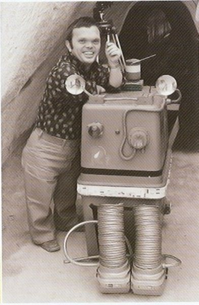 """Редкие фотографии со съемок фильмов """"Звездные войны"""" (113 фото)"""