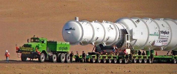 Как перевозят огромные грузы (20 фото)
