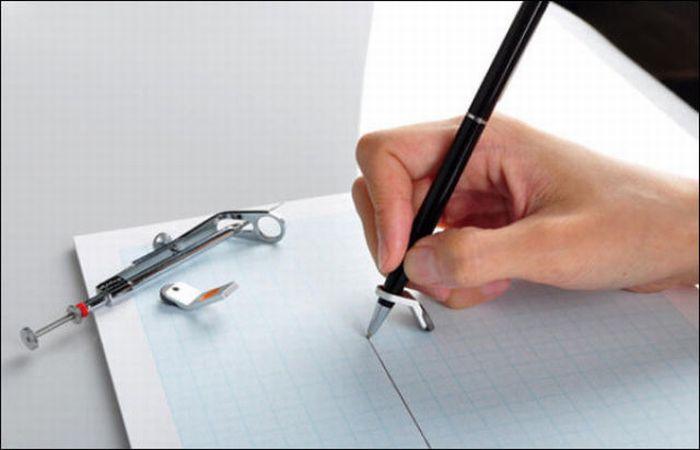 Как нарисовать прямую линию без линейки (8 фото)