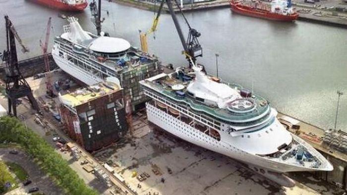 Как удлинить корабль (4 фото)