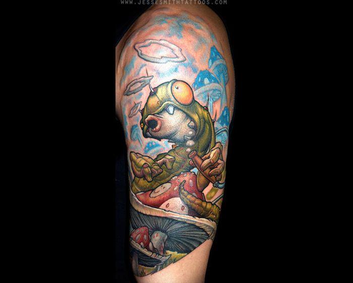 Классные татуировки (38 фото)