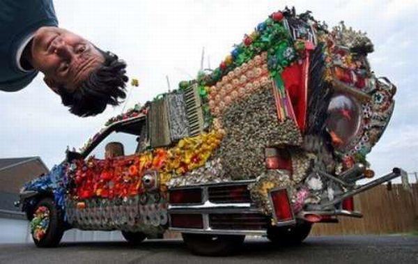 Странные транспортные средства (30 фото)