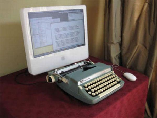 Вещи, собранные из старой электроники (21 фото)
