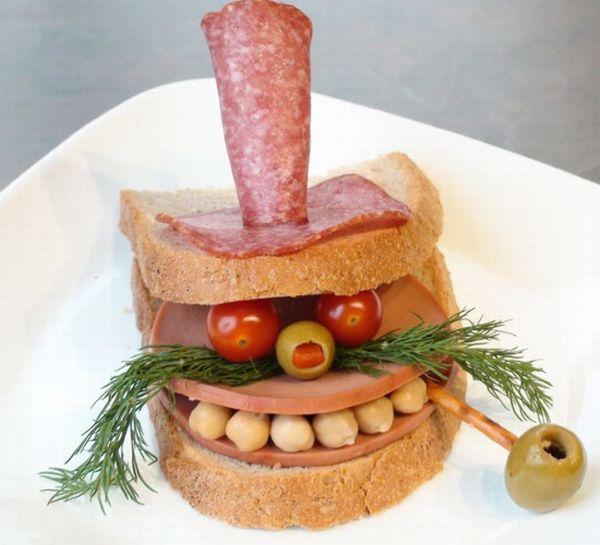 Красивые бутерброды...