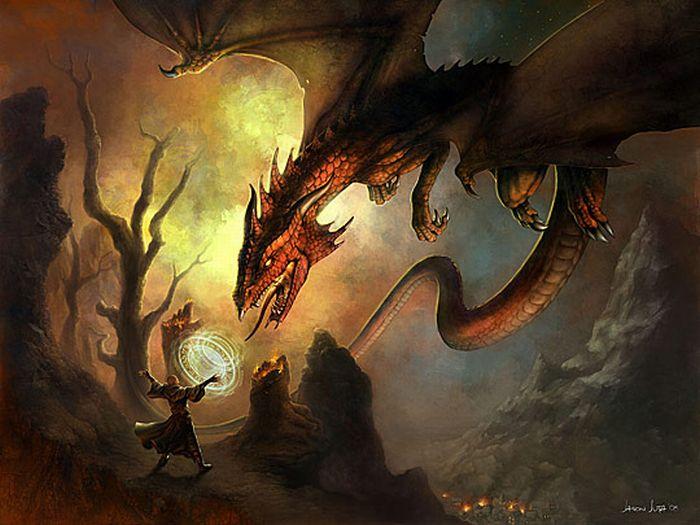 Драконы (49 фото)