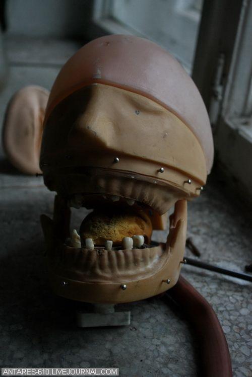 Заброшенное стоматологическое медучилище (89 фото)