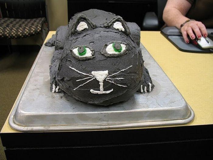 Кошачьи торты (16 фото)