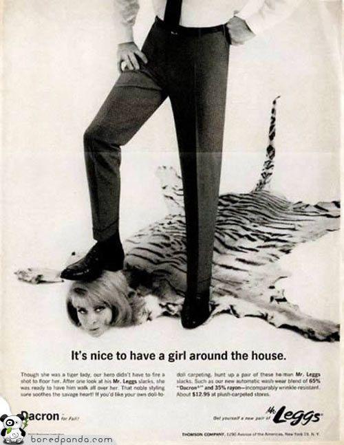 26 старых реклам, которые бы сегодня запретили (26 фото)