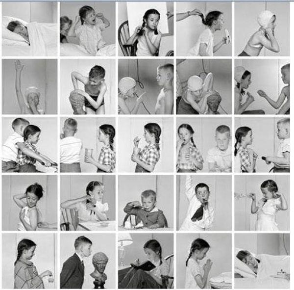 Ретро-фотографии в виде рисунков (19 фото)