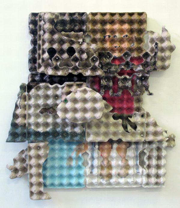 Рисунки на коробках от яиц (17 фото)