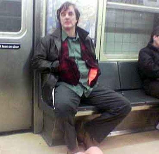 Звезды в метро (14 фото)