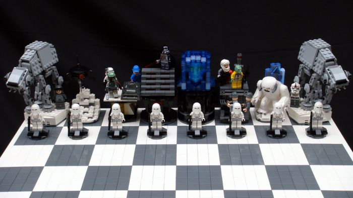 """Шахматы в стиле """"Звездные войны"""" (22 фото)"""