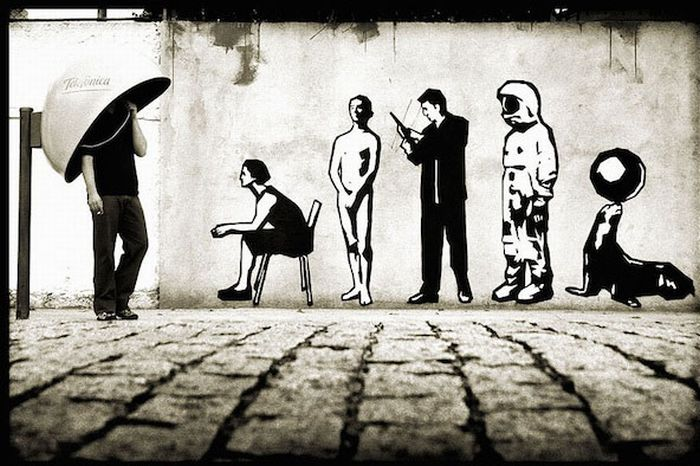 Живые граффити (15 фото)