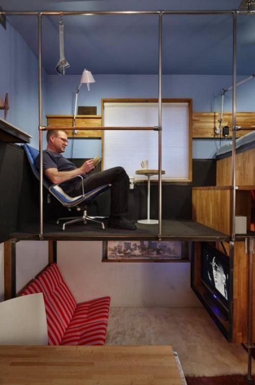 Квартира на 16,9 квадратных метров (7 фото)