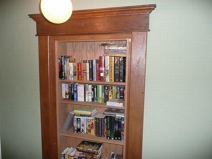 Мужской книжный шкаф (3 фото)