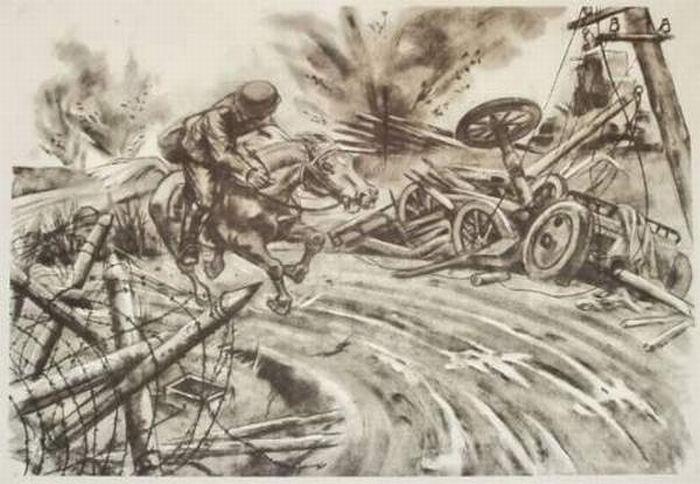 Вторая мировая война рисунки в