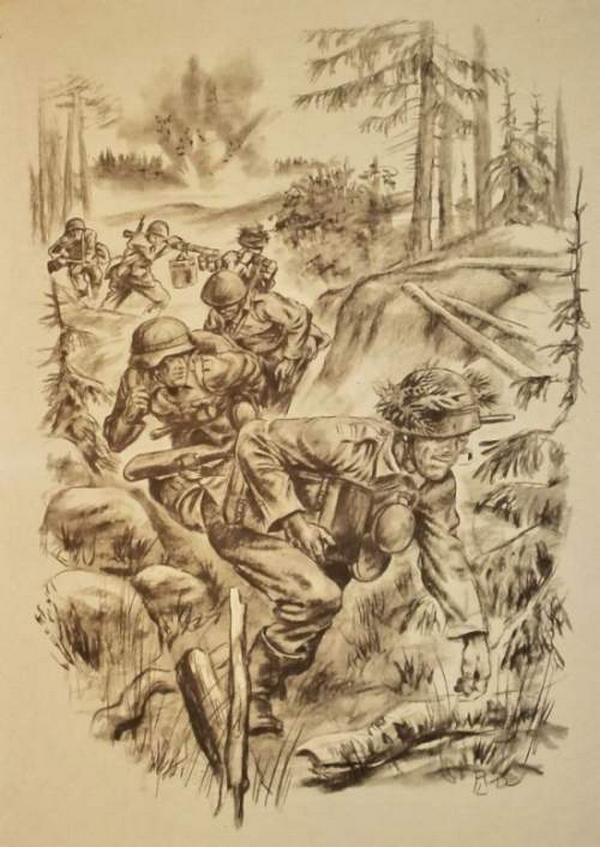 2 мировая война картинки карандашом, картинки