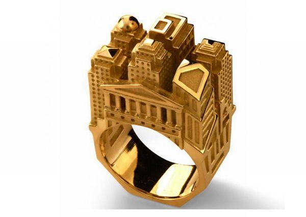 Архитектурные кольца (20 фото)