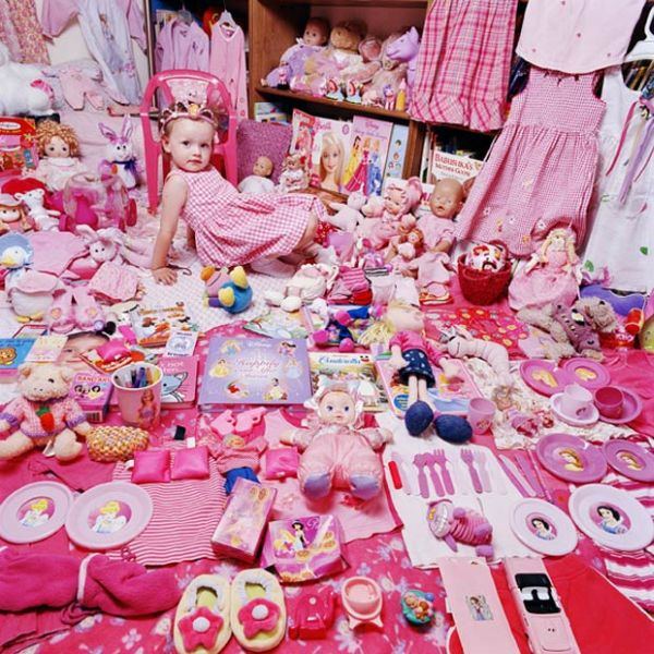 Девочкам нравится розовое, а мальчикам - голубое (17 фото)