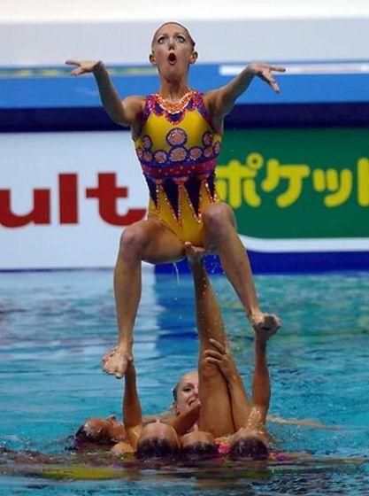 Забавные спортивные фотографии (39 фото)