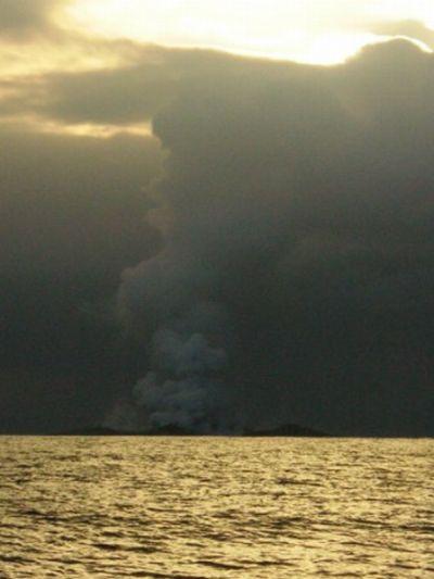 Извержение подводного вулкана (14 фото)