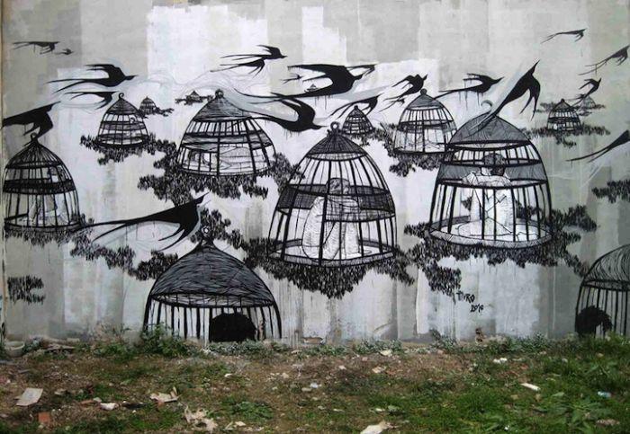 Уличное искусство (37 фото)