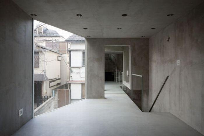 Трехэтажное необычное здание в Токио (19 фото)