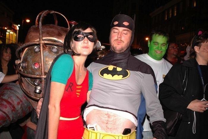 Толстые Бэтмены и Спайдермены (50 фото)