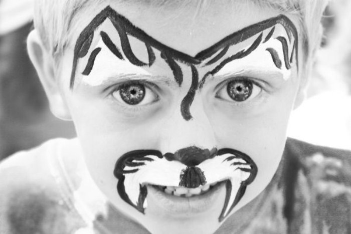 Рисунки на лицах (48 фото)