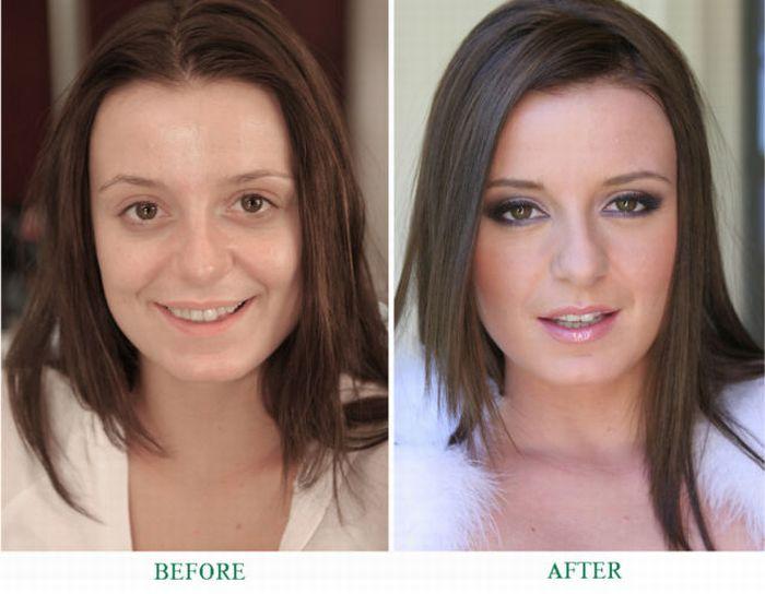 Красивый макияж без косметики