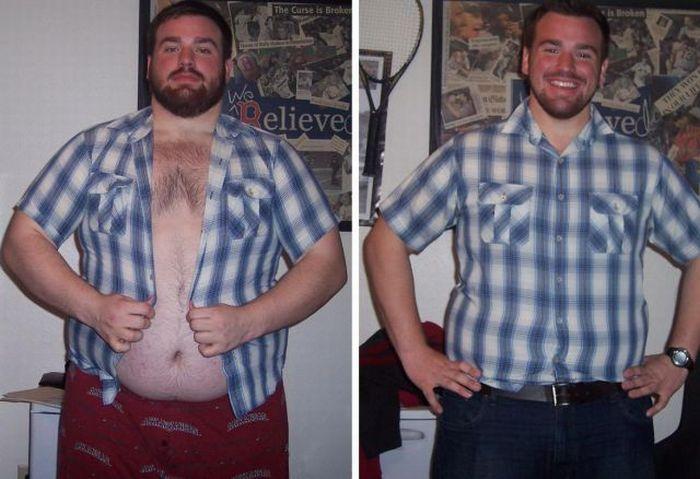 Толстые мужики которые похудели