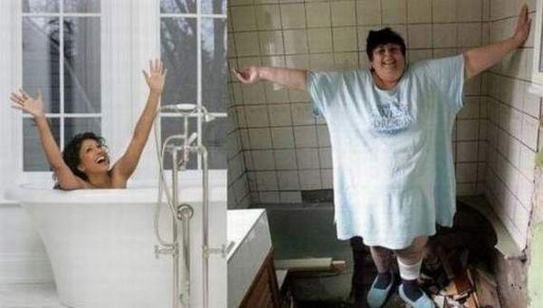 Толстые девушки в ванной 119