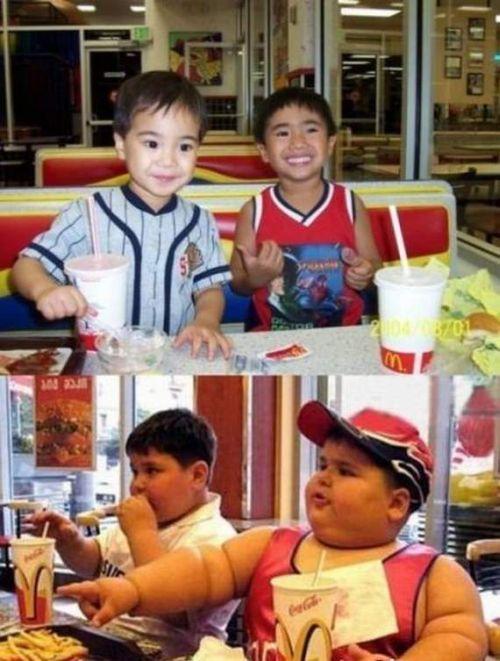 Худые или толстые. Почувствуйте разницу (18 фото)