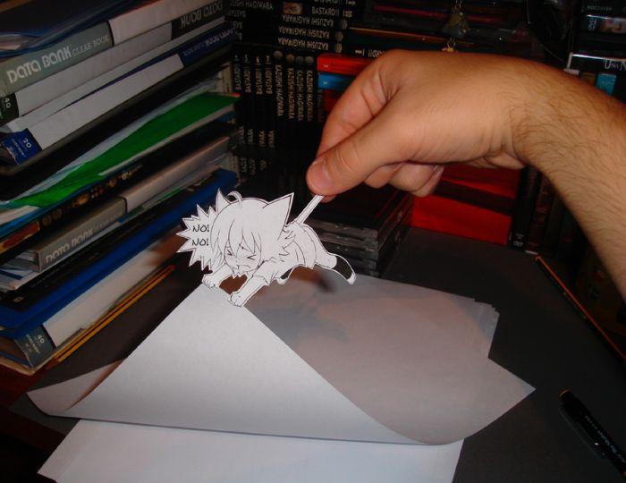 Странное увлечение любителя аниме (25 фото)