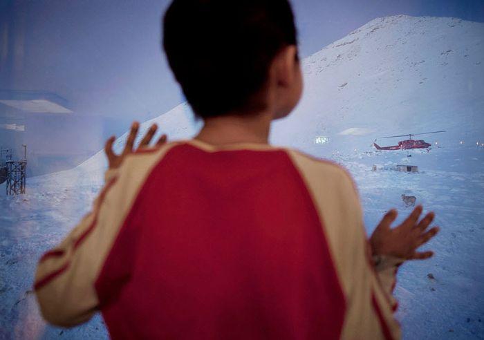 Жизнь в Гренландии (18 фото)