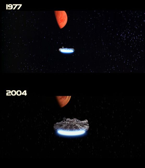 Звездные войны. Новая надежда. 1977 и 2004 гг (122 фото)