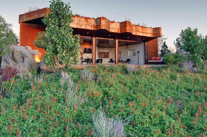 Замаскированный дом (33 фото)