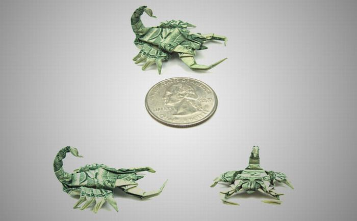 Схема из денег Что такое оригами?