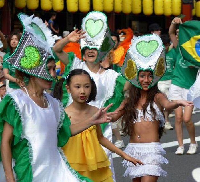 Карнавал Самбы в Японии (24 фото)